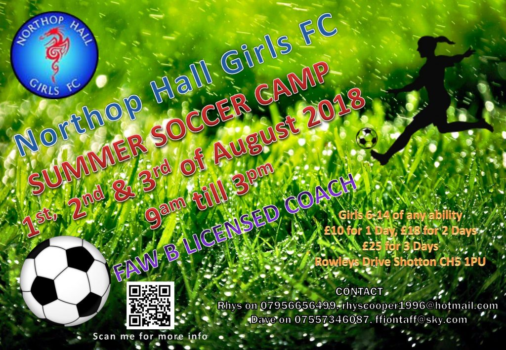 Soccer Camp August 2018