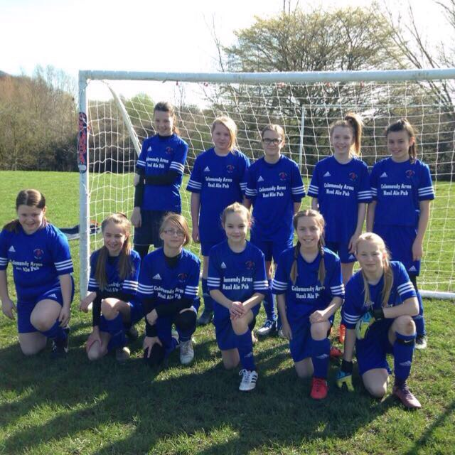 Northop Hall Girls Under 12s 2016-2017